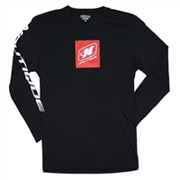 DENALI L/S PERFORMANCE TEE - BLACK