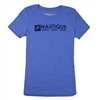 LADIES LEGACY TRIBLEND TEE - VINTAGE ROYAL