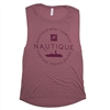 Ladies Tri Fly Scoop Tank - Mauve