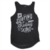 Ladies Marquee Tank - Dark Smoke