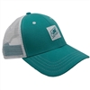 Ladies Life Cap - Teal / White