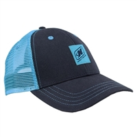 LADIES LIFE CAP - NAVY / AQUA