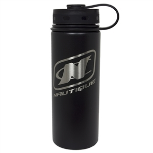 18oz Insulated Bottle - Black