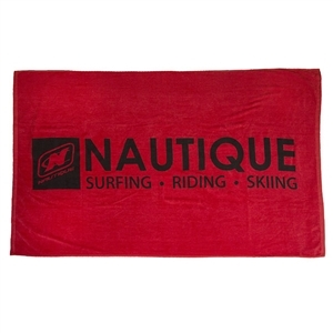 Trifecta Beach Towel - Red