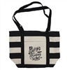 Beach Tote - Natural / Black