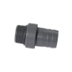 "Fat Sac 1"" Barbed End - Sac Valve Threads"
