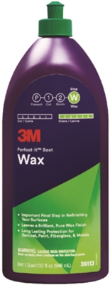 "Perfect-Itâ""¢ Boat Wax, Qt. # 71-36113"
