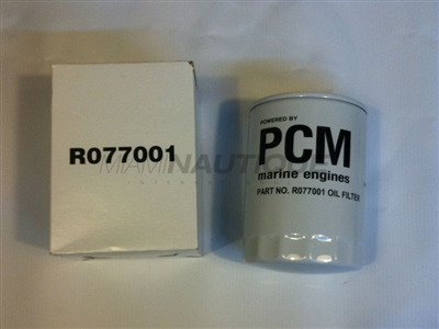 PCM OIL FILTER W/GASKET - ALL NAUTIQUE MODELS R077001