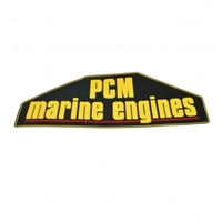 PCM EXHAUST MANIFOLD DECAL R143002A