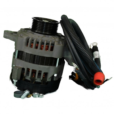 ALTERNATOR FOR GT-40 - 100 AMP & RETROFIT KIT - RF097009A