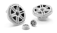 JL Audio M770-TCS-SG-WH: 7.7-inch (196 mm) Tower Component System, White Sport Grilles