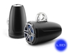 JL Audio 8.8-inch (224 mm)  Enclosed Tower Coaxial System, Satin Black with Blue LED
