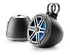 JL Audio PS650-VeX-SG-TMB-LDB: 6.5-inch (165 mm) Enclosed Coaxial System, Titanium Sport Grilles with Blue LED