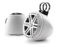 JL Audio PS650-VeX-SG-WGW: 6.5-inch (165 mm) Enclosed Coaxial System, White Sport Grilles