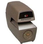 ARC-E Rapidprint Automatic Time & Date Stamp with Analog Clock (G.S.A. ITEM)