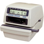 Amano NS-5100 Electronic Time / Date & Numbering Machine