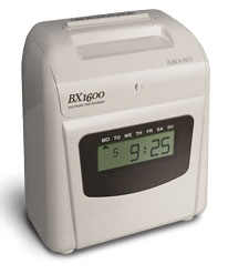 Amano BX 1600 Electronic Time Recorder