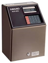 Amano MJR-8000 Rebuilt Computerized Time Recorder