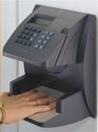 NOVAtime NT4000-B Hand Punch Terminal