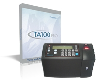 Time America TA100 Pro / TA745 Biometrics Bundle
