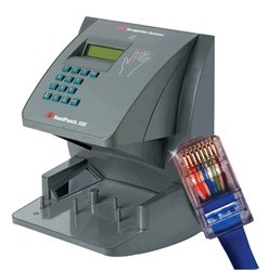 NOVAtime 1000 SBE with 1 NT1000E Ethernet Hand Punch Terminal