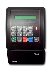 Time America TA715 Badge Clock Terminal with Magstripe Reader