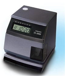 Amano TS-3000i -154  Automatic Time Sync Web Clock