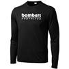 Bombers Fastpitch Black Dryfit Long Slv
