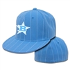 Bombers Carolina Pin Stripe Fitted Hat