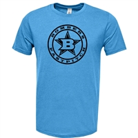 Bombers Fastpitch Carolina Triblend with Circle Logo