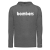 Bomber Retro Triblend Tee with Hood