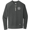 Bomber Fastpitch Charcoal New Era 1/4 zip