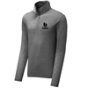 Bomber Fastpitch Dark Heather 1/4 zip