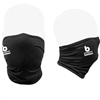Bomber Retro Performance Face Mask-Black