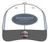 Bombers Grey/Carolina/White Patch logo Hat