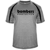 Bombers Fastpitch Retro Heather/Black Fusion Dry-fit