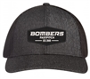 Bombers Fastpitch Heather Black Patch Hat
