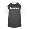 Bomber Fastpitch Heather/White Retro Breakout Tee