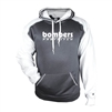 Bomber Fastpitch Heather/White Sport Hoodie