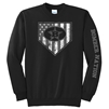 Bombers Long Sleeve American Shield