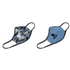 Bombers Reversible Face Mask-Retro logo