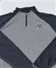 Bomber Fastpitch Heather/Charcoal 1/4 zip