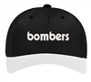Bombers Fastpitch Retro Black and White