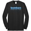 Bomber Fastpitch Retro Black Cotton Long Sleeve