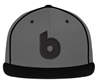 Bombers Custom Retro Grey-Black Perforated Hat
