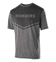 Bombers Fastpitch Seismic Heather Dry-fit