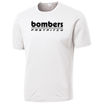 Bombers Fastpitch White Dryfit