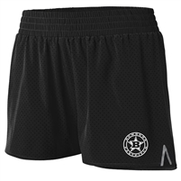 Bombers Fastpitch Black Mesh Shorts