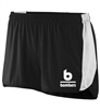 Bombers Fastpitch Black Sprint Shorts