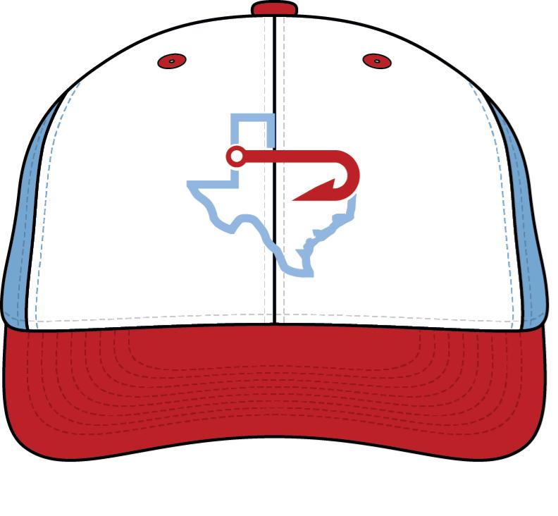 d9a42384bc7 ... canada hooks baseball red carolina blue white texas logo hat 303bd 7bd2c